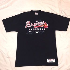 Majestic Atlanta Braves Graphic T-shirt
